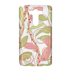Pink and ocher ivy 2 LG G3 Hardshell Case