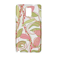 Pink and ocher ivy 2 Samsung Galaxy Note 4 Hardshell Case