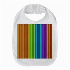Colorful lines Bib