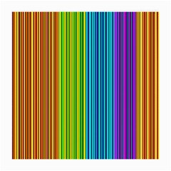 Colorful lines Medium Glasses Cloth (2-Side)