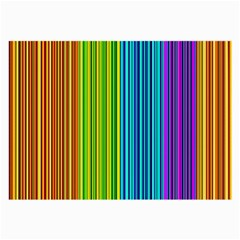 Colorful lines Large Glasses Cloth (2-Side)