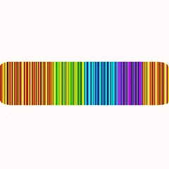 Colorful lines Large Bar Mats