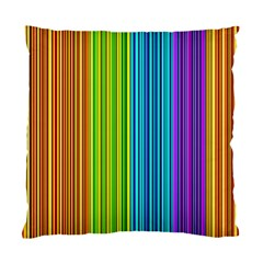 Colorful lines Standard Cushion Case (Two Sides)