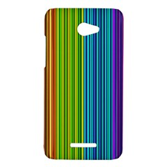 Colorful lines HTC Butterfly X920E Hardshell Case