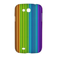 Colorful lines Samsung Galaxy Grand GT-I9128 Hardshell Case
