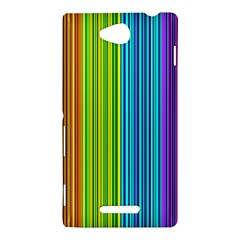 Colorful lines Sony Xperia C (S39H)