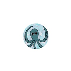 Octopus 1  Mini Buttons