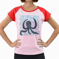 Octopus Women s Cap Sleeve T-Shirt
