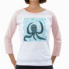 Octopus Girly Raglans