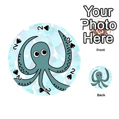 Octopus Playing Cards 54 (Round)
