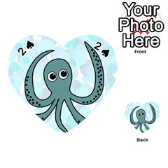 Octopus Playing Cards 54 (Heart)