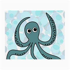 Octopus Small Glasses Cloth (2-Side)