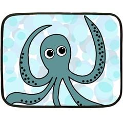 Octopus Fleece Blanket (Mini)