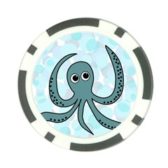 Octopus Poker Chip Card Guards (10 pack)