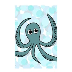 Octopus Shower Curtain 48  x 72  (Small)