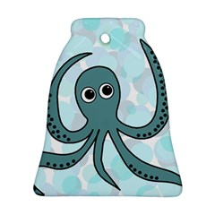 Octopus Bell Ornament (2 Sides)