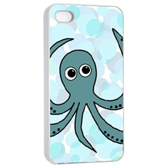Octopus Apple iPhone 4/4s Seamless Case (White)