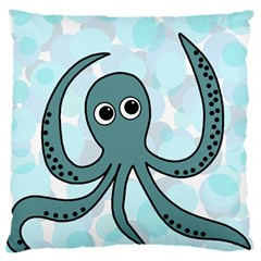 Octopus Large Cushion Case (Two Sides)