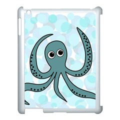 Octopus Apple iPad 3/4 Case (White)