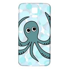 Octopus Samsung Galaxy S5 Back Case (White)