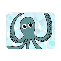 Octopus Double Sided Flano Blanket (Mini)