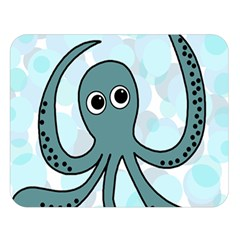 Octopus Double Sided Flano Blanket (Large)