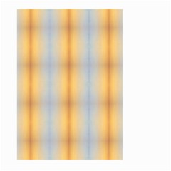 Blue Yellow Summer Pattern Large Garden Flag (two Sides)
