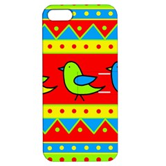 Birds pattern Apple iPhone 5 Hardshell Case with Stand
