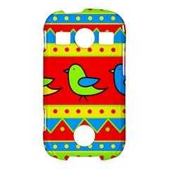 Birds pattern Samsung Galaxy S7710 Xcover 2 Hardshell Case