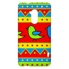 Birds pattern HTC One Max (T6) Hardshell Case