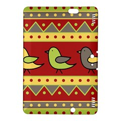 Brown bird pattern Kindle Fire HDX 8.9  Hardshell Case