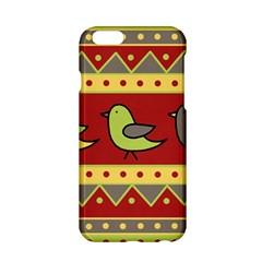 Brown bird pattern Apple iPhone 6/6S Hardshell Case