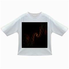 Multicolor Fractals Digital Art Design Infant/Toddler T-Shirts