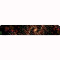 Multicolor Fractals Digital Art Design Small Bar Mats