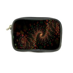 Multicolor Fractals Digital Art Design Coin Purse