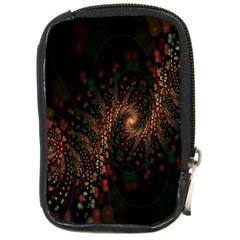 Multicolor Fractals Digital Art Design Compact Camera Cases