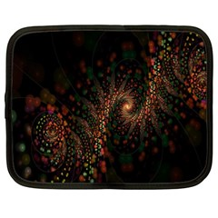 Multicolor Fractals Digital Art Design Netbook Case (XL)