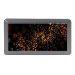 Multicolor Fractals Digital Art Design Memory Card Reader (Mini)
