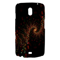 Multicolor Fractals Digital Art Design Samsung Galaxy Nexus i9250 Hardshell Case