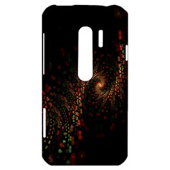 Multicolor Fractals Digital Art Design HTC Evo 3D Hardshell Case