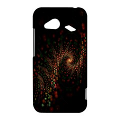 Multicolor Fractals Digital Art Design HTC Droid Incredible 4G LTE Hardshell Case