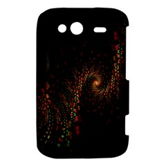 Multicolor Fractals Digital Art Design HTC Wildfire S A510e Hardshell Case