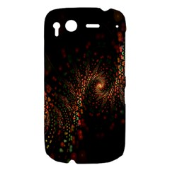 Multicolor Fractals Digital Art Design HTC Desire S Hardshell Case