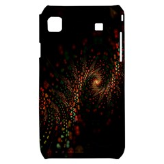 Multicolor Fractals Digital Art Design Samsung Galaxy S i9000 Hardshell Case