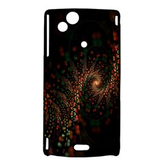 Multicolor Fractals Digital Art Design Sony Xperia Arc