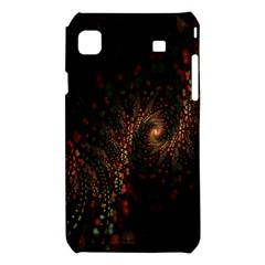 Multicolor Fractals Digital Art Design Samsung Galaxy S i9008 Hardshell Case