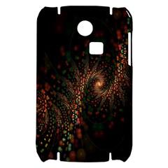 Multicolor Fractals Digital Art Design Samsung S3350 Hardshell Case