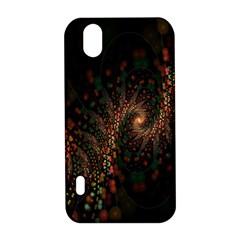 Multicolor Fractals Digital Art Design LG Optimus P970