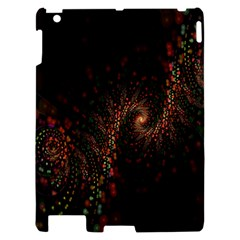 Multicolor Fractals Digital Art Design Apple iPad 2 Hardshell Case