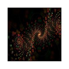 Multicolor Fractals Digital Art Design Acrylic Tangram Puzzle (6  x 6 )